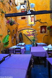 Crete, Chania, old town restaurant