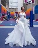Big White Wedding Gown