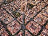 Barcellona dall'alto (foto di Peter Rajkai, dettaglio)