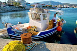 fishing boat, Samos, Greece