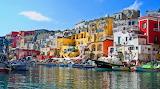 Procida near Naples Italy