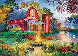 Campfire by the Barn~ DominicDavison