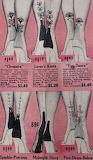 1950s tattoo heel stockings