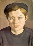 Lucian Freud, Girl with Beret (1951-52)
