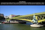 Le Pont Mirabeau à Paris