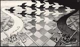 Escher - Giorno e notte (1938)