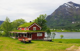 Cottage Lofoten - Royaltyfree from Piqsels id-spncd