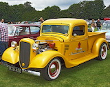 Chevrolet pickup hot rod 1936