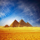 The Pyramids of Gaza, Cairo...