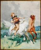 Wild Horses by Evariste Vital Luminais