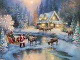 Christmas - Thomas Kinkade