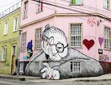 Mural in Valparaíso Chile