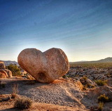 Heart Rock Joshua Tree national Monument