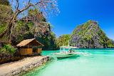 Beautiful Palawan coast, Philippines