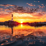 Lighthouse Sunset...