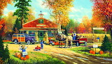 Autumn Traditions~ GeorgeKovach HD wp