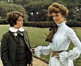 Julie Christie and Dominic Guard in The Go-Between (1971)