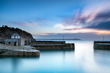 Dawn at Charlestown Harbour, Kernow