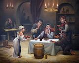 Nella taverna, di Anatoliy Kozelsky