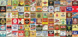 Beer alcohol drink poster collage tiles tile 2300x1100
