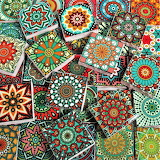 antique tiles, Morocco
