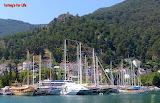 Fethiye Harbour Boats