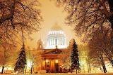Isaakievsky cathedral. Saint-Petersburg