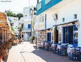 Crete, Makrigialos beachside restaurants
