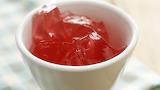 Close-up-Strawberry-jelly