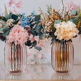 Flores-en-jarrones-de-cristal-bonitos