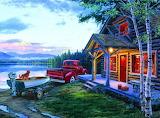 Cabin Fever By Darrell Bush