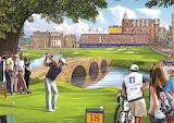 The 18th hole - Steve Crisp