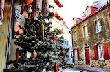 Wandering Through Old Quebec City at Christmas