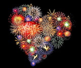 #Heart Shaped Fireworks