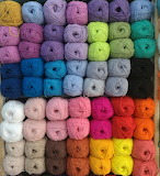 Color sorted yarn