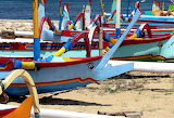 Indonesian traditional boats