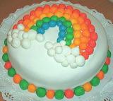 Rainbow cake @ Agarimos