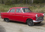 Ford Consul red 1962