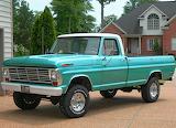 Ford pickup F100
