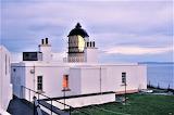 Dusk lighthouse Mull of Kintyre Scotland