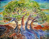Tree of Life, batik ~ Marcia Baldwin