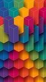 Bright colors rainbow
