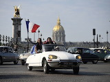 France Paris Citroen DS