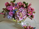 Flowers, still life, bouquet, vase, colourful