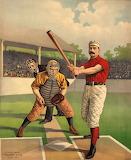 Batting old Baseball
