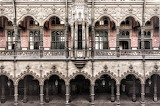 Upper level walkway former Chamber of Commerce Antwerp Belgium s