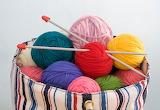Yarn in a bag