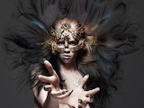 Masks Makeup Hair Hands Grimes Claire Boucher Hunger 2015 Rank