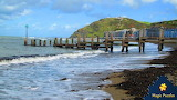 Aberystwyth Jetty in Wales by Corben P. from auricle99 on magic