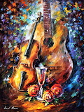 #Guitar and Violin by Leonid Afremov
